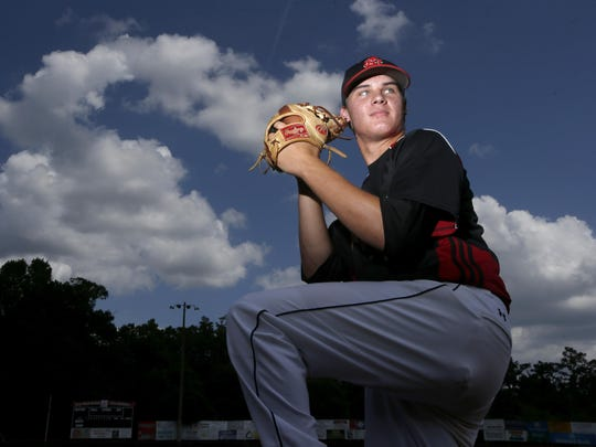 NFC senior Cole Sands was recently named the 2015 All-Big Bend Pitcher of the Year. He'll be at FSU next year and could be in line for a starting spot.