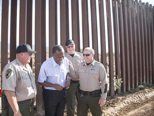 Ben Carson president visit border Mexico