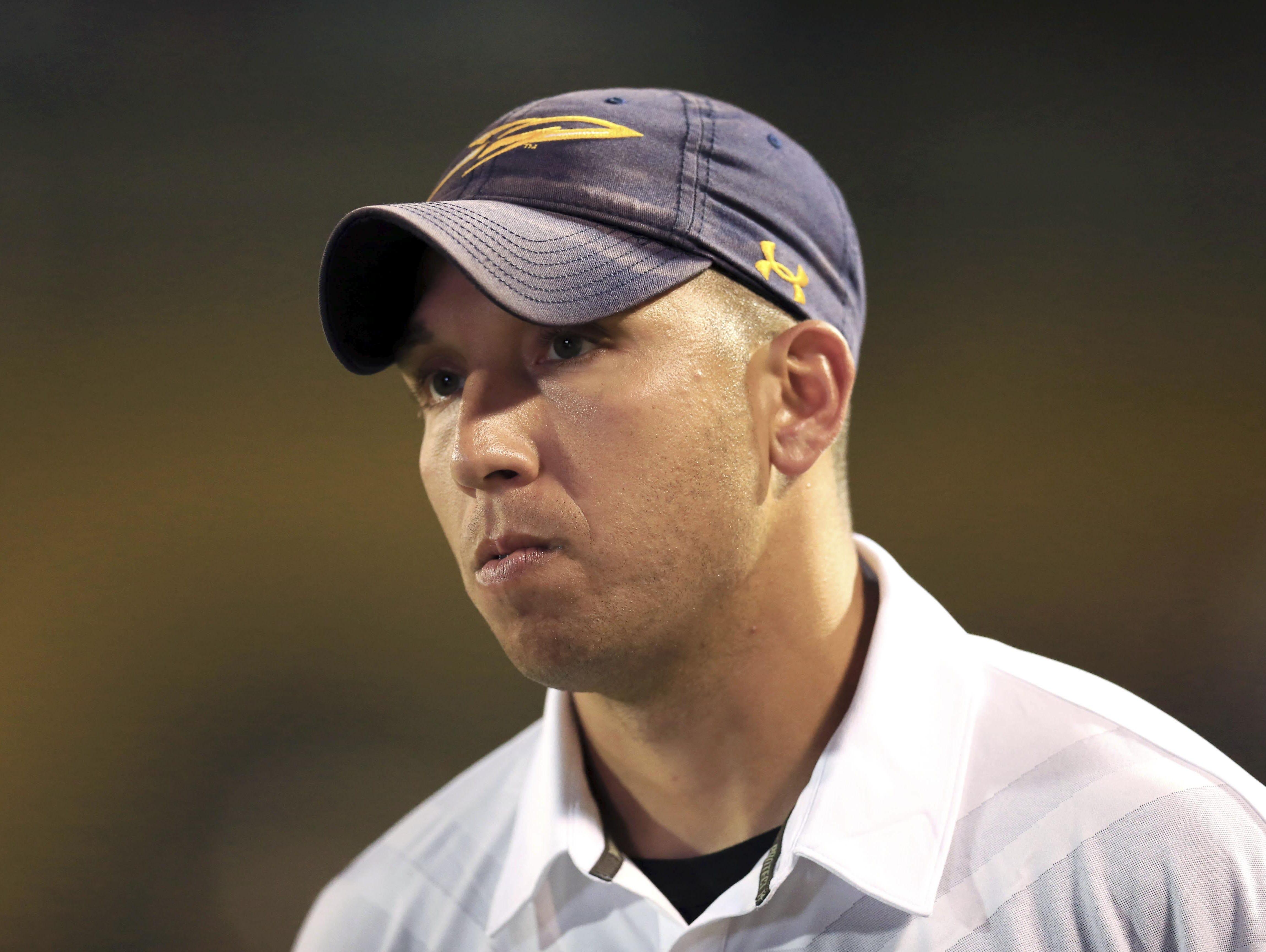 Toledo head coach Matt Campbell.