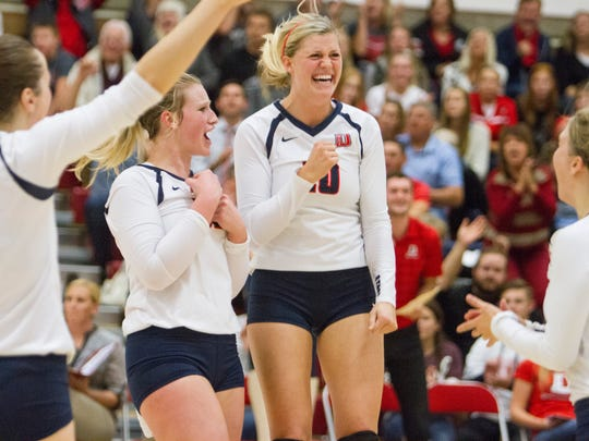 Dixie State regains their lead for a victory over California Baptist Wednesday, Nov. 4, 2015.