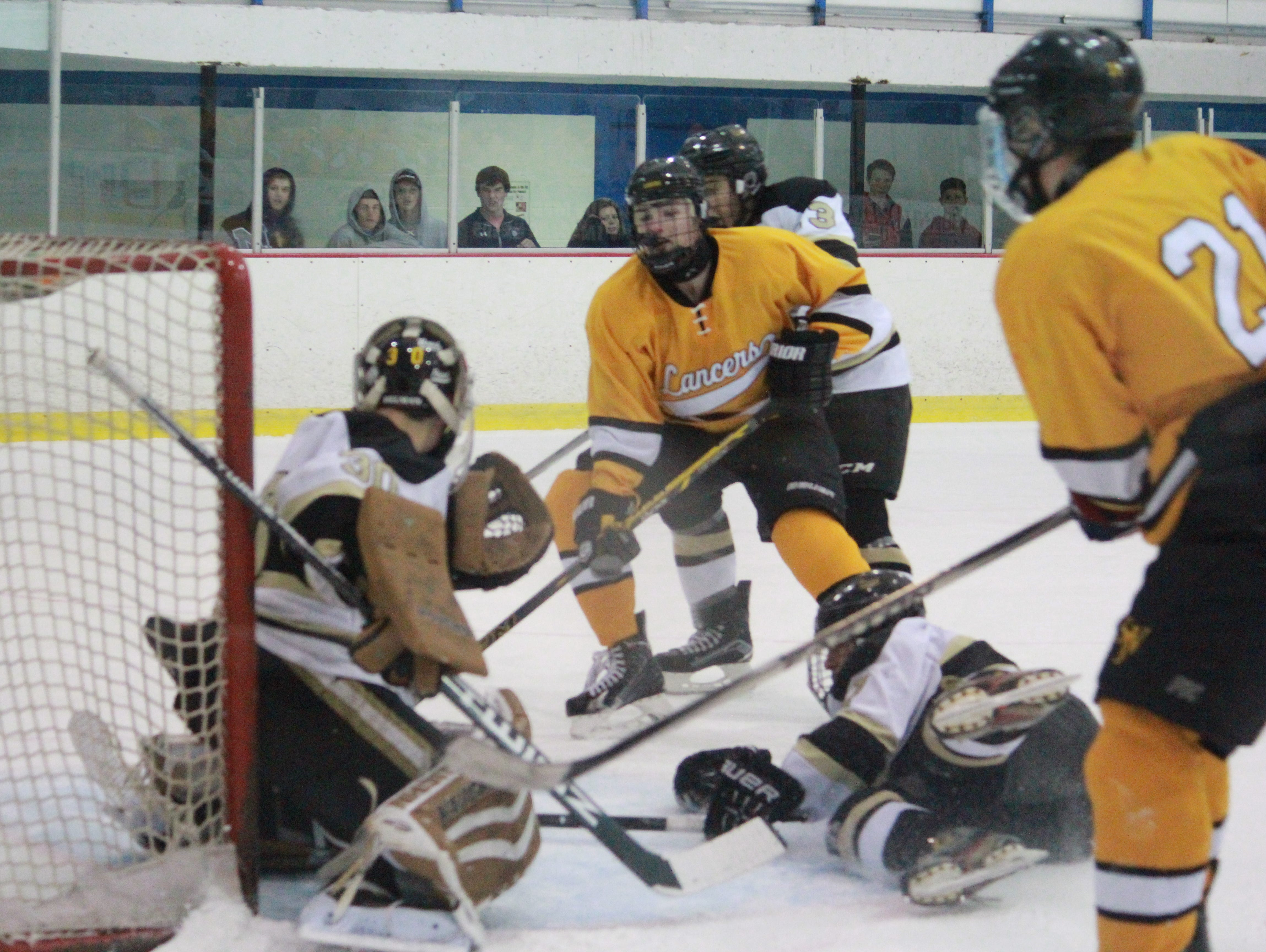 St. John Vianney skated to a 3-2 win over Point Boro on Friday at the Ocean Ice Palace.