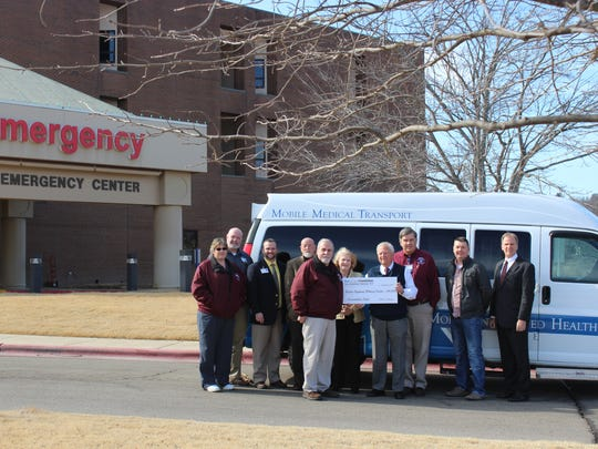 The Blue & You Foundation presented a $150,000 grant