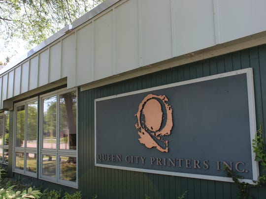Queen City Printers in Burlington, pictured on Thursday.