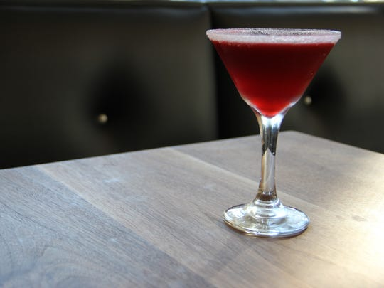 The blackberry lemon drop  at Ritter's Housemade Foods is made with Sublime Organics berries and Monopolowa Vodka .