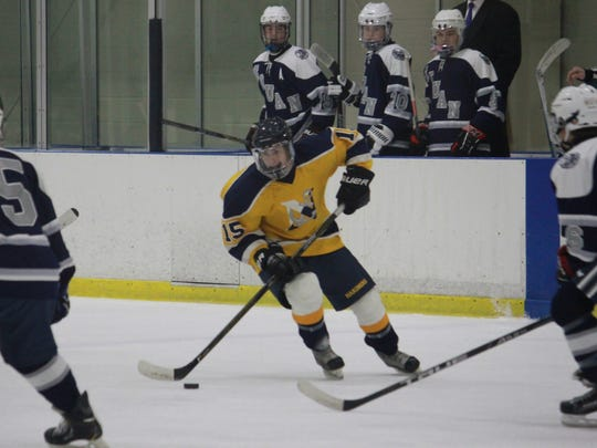 Nick Pica (15) had two goals in a 7-5 win over Manasquan.