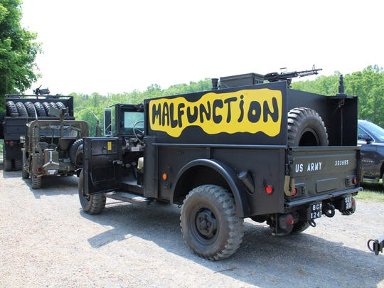 Sammy Seay built his Vietnam gun truck replica, Malfunction.