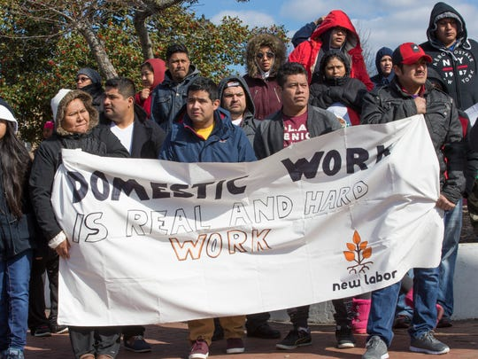 Thousands flock to A Day without Immigrants rally at