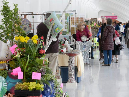 Art in Bloom, the Milwaukee Art Museum's annual ode to spring, begins April 11.