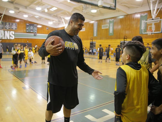 Jose Gil's gone beyond the ranks of high school basketball to help the youth in Salinas by creating the non-profit Gil Basketball Academy (GBA) that includes hundreds of kids in Monterey County.
