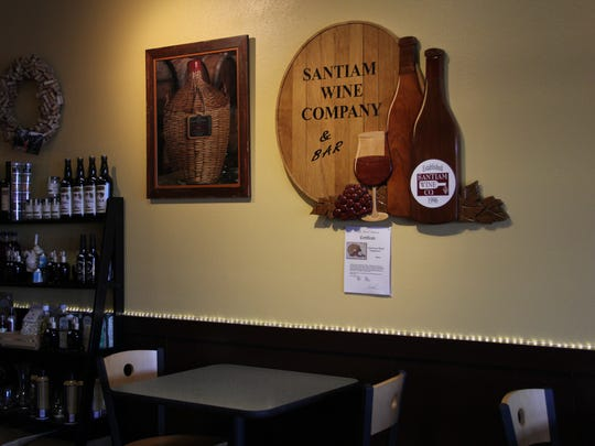 Santiam Wine & Bistro moved to its 12th Street location in 2011. The wine shop hosts wine tastings and offers dinner service.