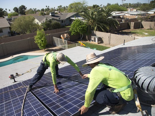 Gary Pierce was an early proponent of rooftop-solar