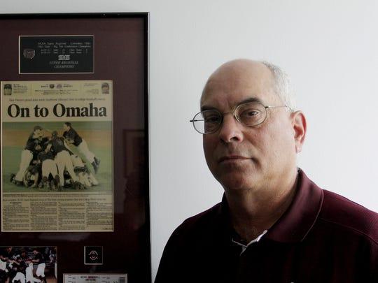 Missouri State baseball coach Keith Guttin