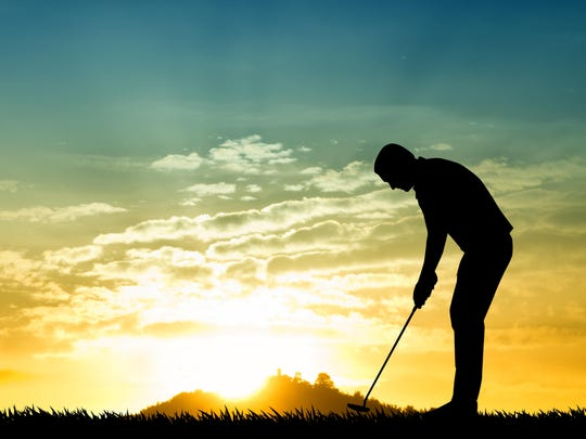Golf instructor Daril PAcinella says keeping your head