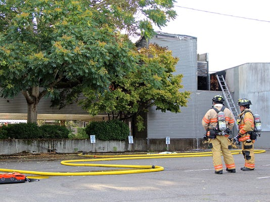 Salem Fire responds to structure fire on Commercial St