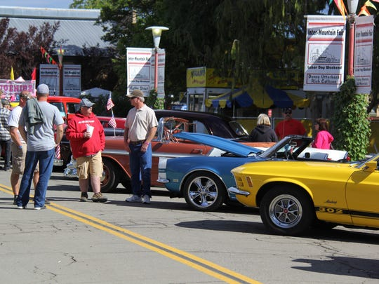 Inter-Mountain Fair includes a car show.