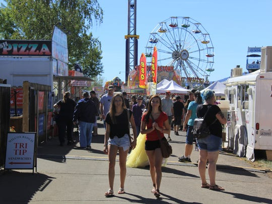 The Inter-Mountain Fair in McArthur features food, rides and plenty of agricultural activities and displays.