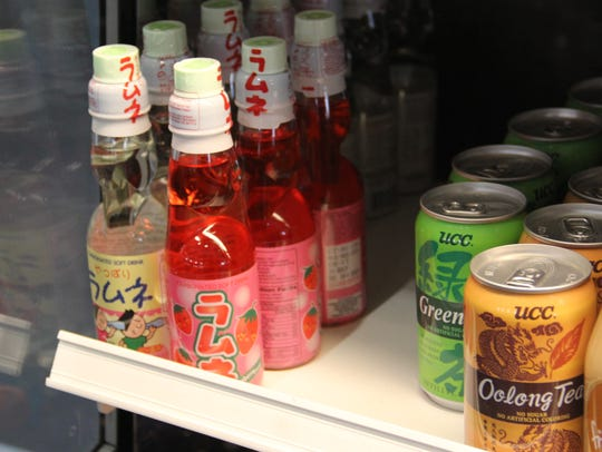 Ramune, a Japanese soda, is carbonated as a marble