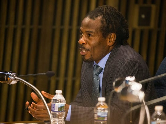 Wilmington City Council member Nnamdi Chukwuocha during a regular meeting of the council Sept. 21.  If a resolution is passed by the council on April 5 he will become the next president pro tempore.