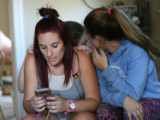 """Just go,"" thats all Megan O'Donnell Clements could think when she started to hear shots ring out during a Jason Aldean concert in Las Vegas, Nev. The 33-year-old is back safe in Delaware with her twin daughters, Rylee, right, and Carmela."