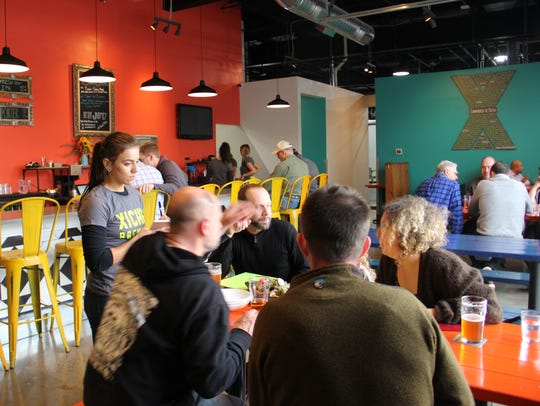 Xicha Brewing opened for lunch at 11 a.m. Nov. 3, serving
