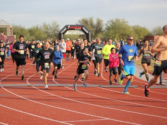 The 11th Annual Laveen Turkey Trot lets participants
