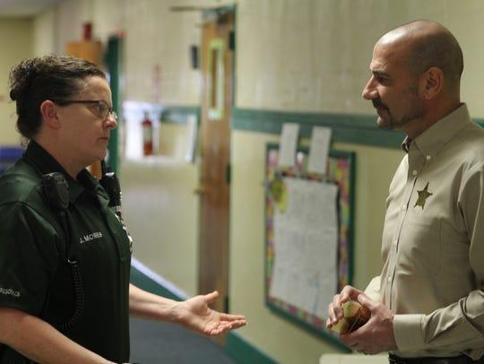 Deputy Norris, an SRO at Kate Sullivan Elementary,