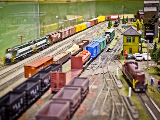 Trains: Full STEAM Ahead is a traveling exhibit showcasing a fully functioning, HO-scale model train network for all ages.