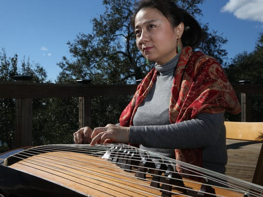 Haiqiong Deng joins percussionist Michael Bakan at 8 p.m. Thursday at Blue Tavern.