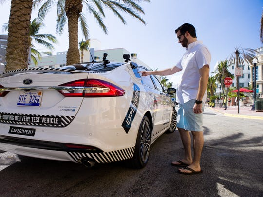 Domino's is set to test driverless car deliveries tests