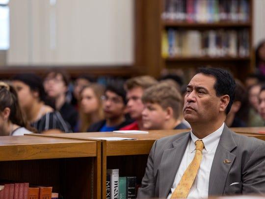 Roland Hernandez, superintendent of the Corpus Christi