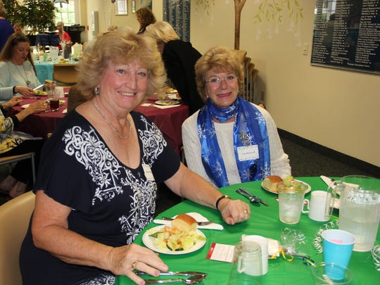 Susan Heward and Lucy Bancroft are among the 375 volunteers