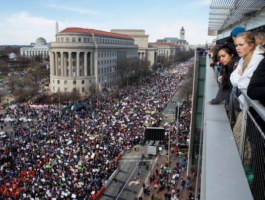 EPA USA MARCH FOR OUR LIVES POL CITIZENS INITIATIVE & RECALL USA DC