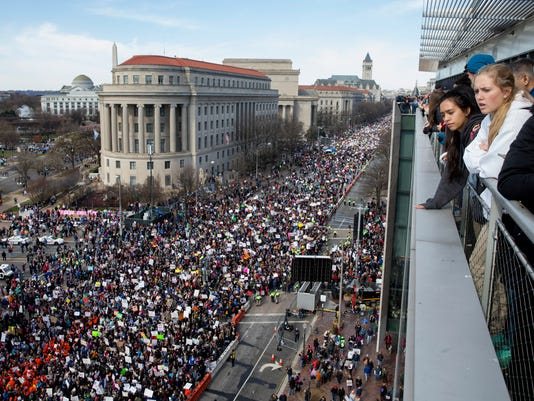 EPA USA MARCH FOR OUR LIVES POL CITIZENS INITIATIVE & RECALL USA DC