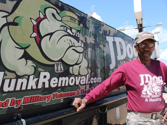 After becoming a local franchise owner of JDog Junk Removal less than three years ago, Windell Bonner was recently named the first ever JDog franchise owner of the year.