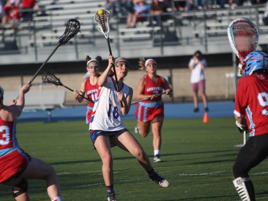 WNS attacker Lauren Flemma releases a shot for one