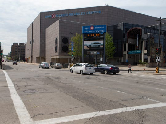 The Common Council's Public Safety and Health Committee is recommending converting the remaining one-way section of State Street to support redevelopment of the BMO Harris Bradley Center site and other downtown Milwaukee properties.