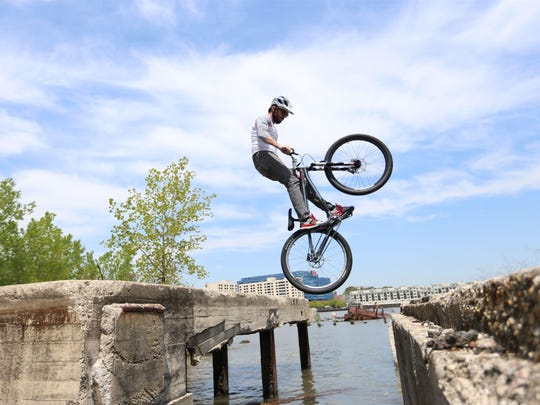 The Chris Clark Bicycle Stunt Show will perform at