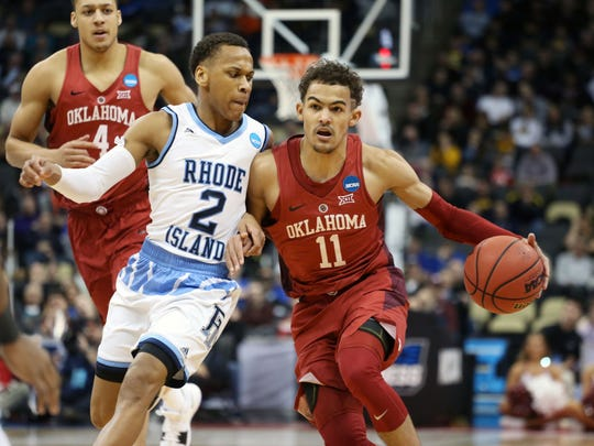No. 8: Cleveland Cavaliers (via Nets): PG Trae Young, Oklahoma. Age: 19. Size: 6-2, 180. Class: Freshman. A bit of a fall from my initial mock draft, but this is probably where he should go. ... In shooting range once he crosses half-court. ... Carried limited Sooners. Creative passer which leads to confidence he can develop into a top lead guard. ... Potential star power for Cavs if LeBron James leaves.