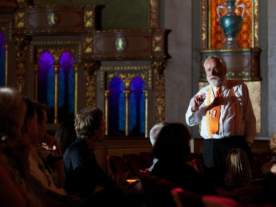 Bill Snyder explains the history of the Tennessee Theatre