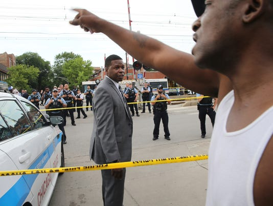 AP POLICE SHOOTING-CHICAGO A USA IL