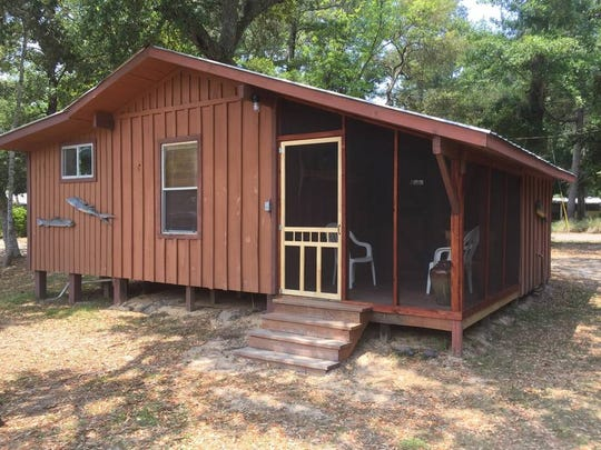 "The ""Sister River Retreat's Cypress Cottage"" is the"