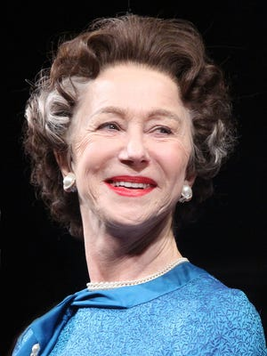 Helen Mirren is nominated for a Tony for her role as Queen Elizabeth in 'The Audience.'