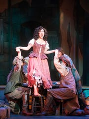"""Karin Mushegain takes on the role of """"Aldonza"""" during"""