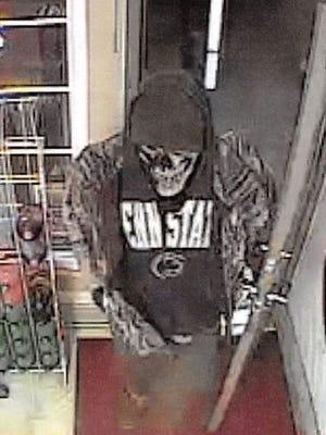 A photo of the alleged Gumsboro Liquor Store robbery suspect.