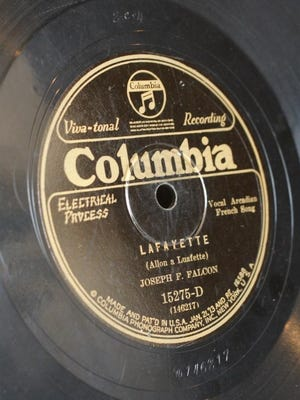 Legend has it that Joe Falcon and Cleoma Breaux's1928 recording of Allons a Lafayette became so popular, people would buy eight to 10 copies at a time because they wore them out so fast.