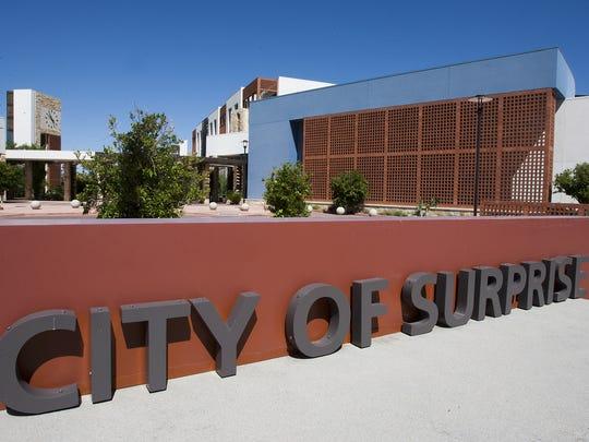Surprise City Hall.