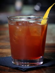 """""""Catcher in the Rye,"""" created by Gray's on Main bartender Kala Ellis, is the cocktail for this year's Heritage Ball Thursday September 7, 2017."""
