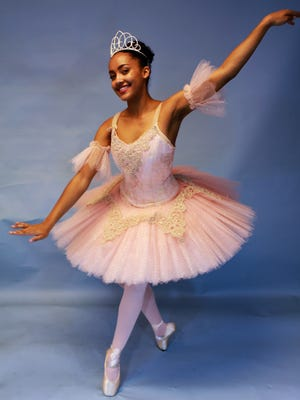 """The premiere role of the Sugar Plum Fairy will be played by Shea Green in the 33rd annual """"The Nutcracker"""" by Las Cruces Chamber Ballet."""
