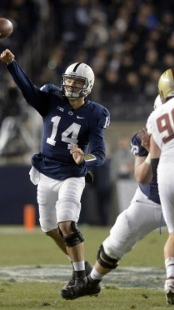 Why do you think Christian Hackenberg can lead the Lions to more than eight regular-season victories?