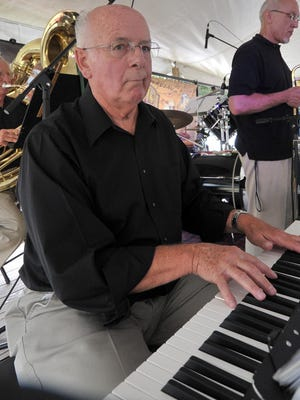 Jazz pianist Wayne Plant of Merrill performs with his band during the Sid Kyler River Valley Jazz Fest at Bull Falls Brewery in Wausau in 2013.